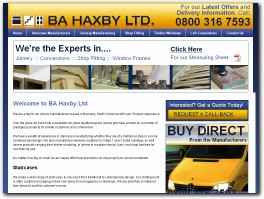 http://bahaxby.co.uk/ website
