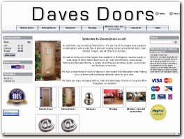 http://www.davesdoors.co.uk website