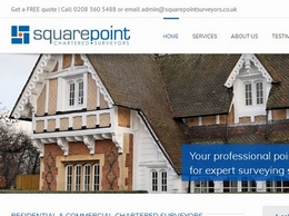 https://www.squarepointsurveyors.co.uk/ website