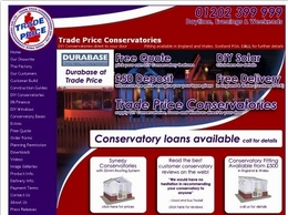 https://tradepriceconservatories.com website