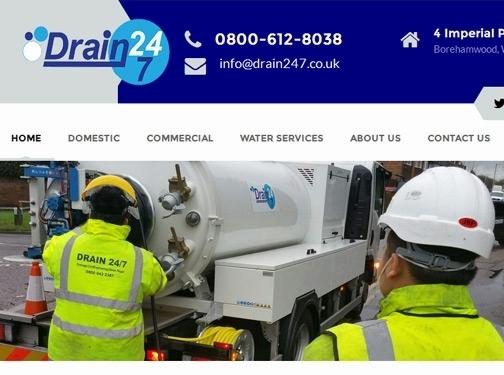 http://www.drain247.co.uk website