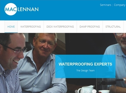 http://maclennanwaterproofing.co.uk/ website
