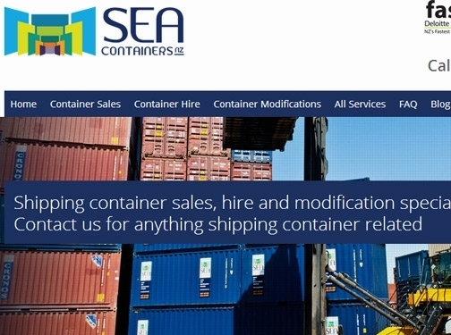 http://www.seacontainers.co.nz/ website