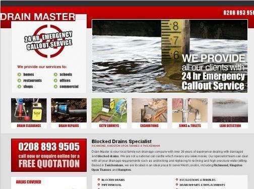 https://drainmasteruk.co.uk/ website