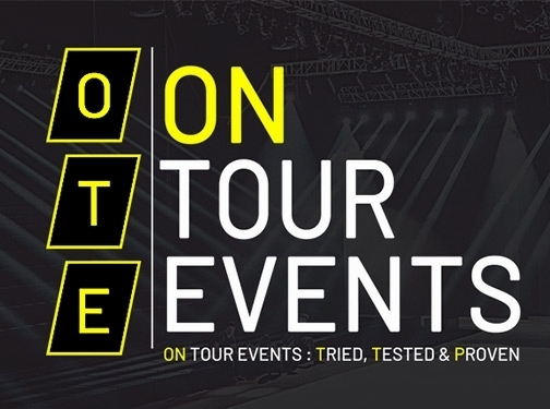https://www.ontourevents.co.uk/ website